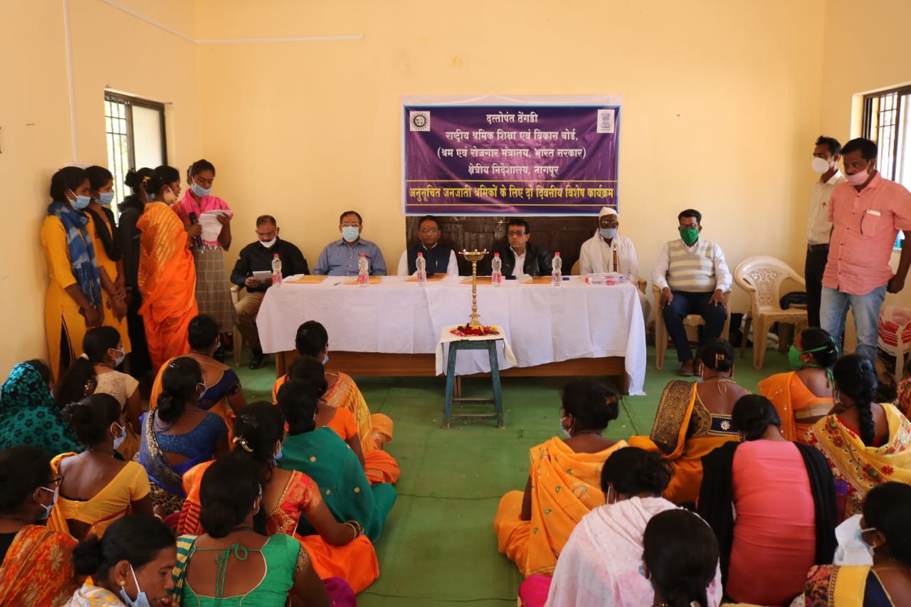 <p>Shri Virjesh Upadhyay, Chairman visited Special Programme for TSP Workers on 05.02.2021 at village Pipariya, Ramtek conductecd by Reg.Drct, Nagpur</p>