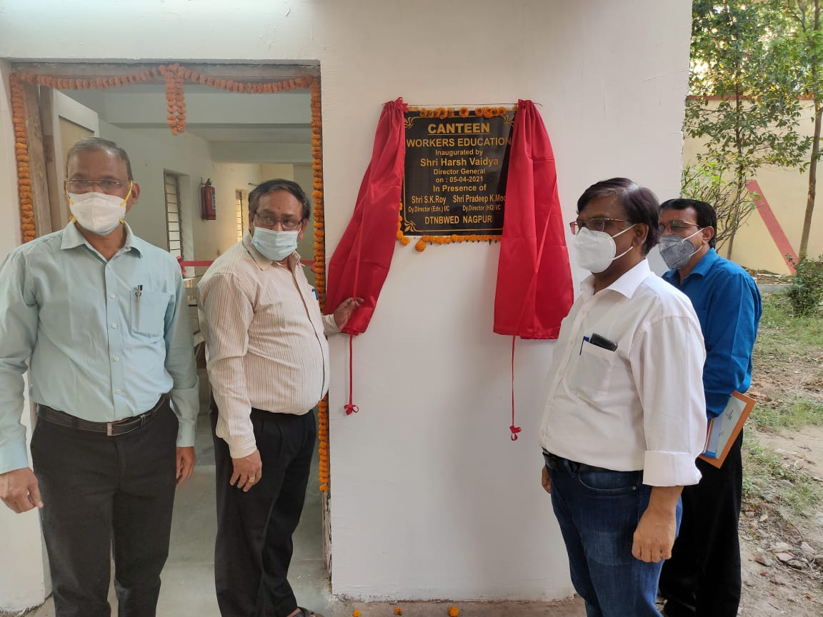 Inauguration of Canteen