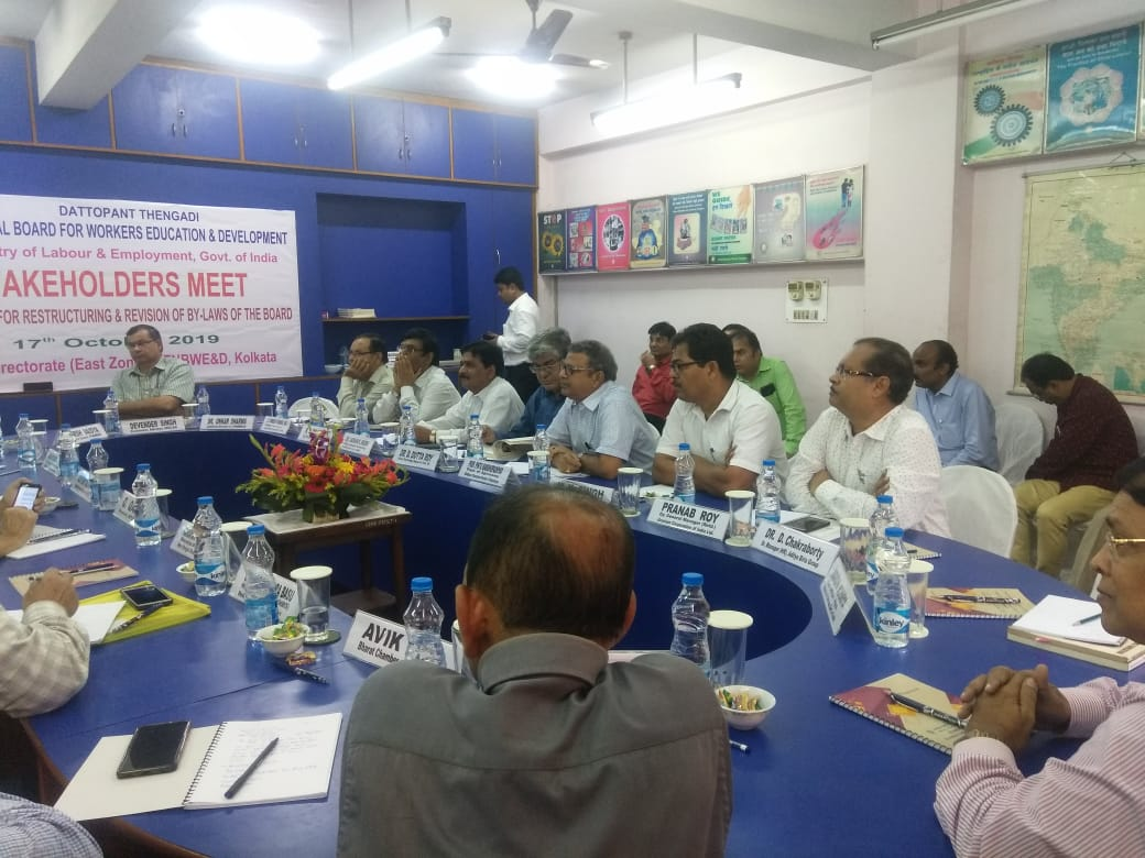 Stakeholder Meet held on 17th October, 2019 at Kolkata